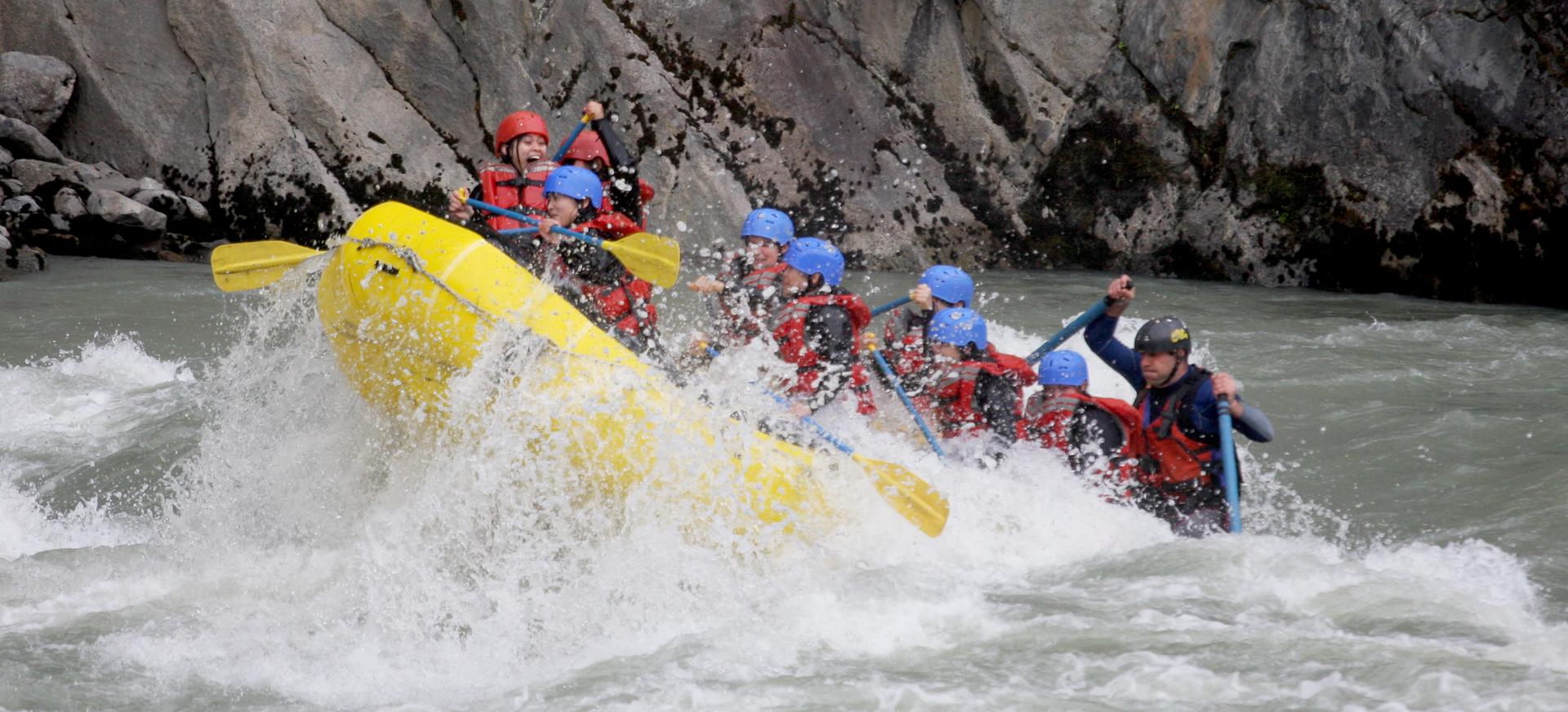 BhoteKoshi-Rafting