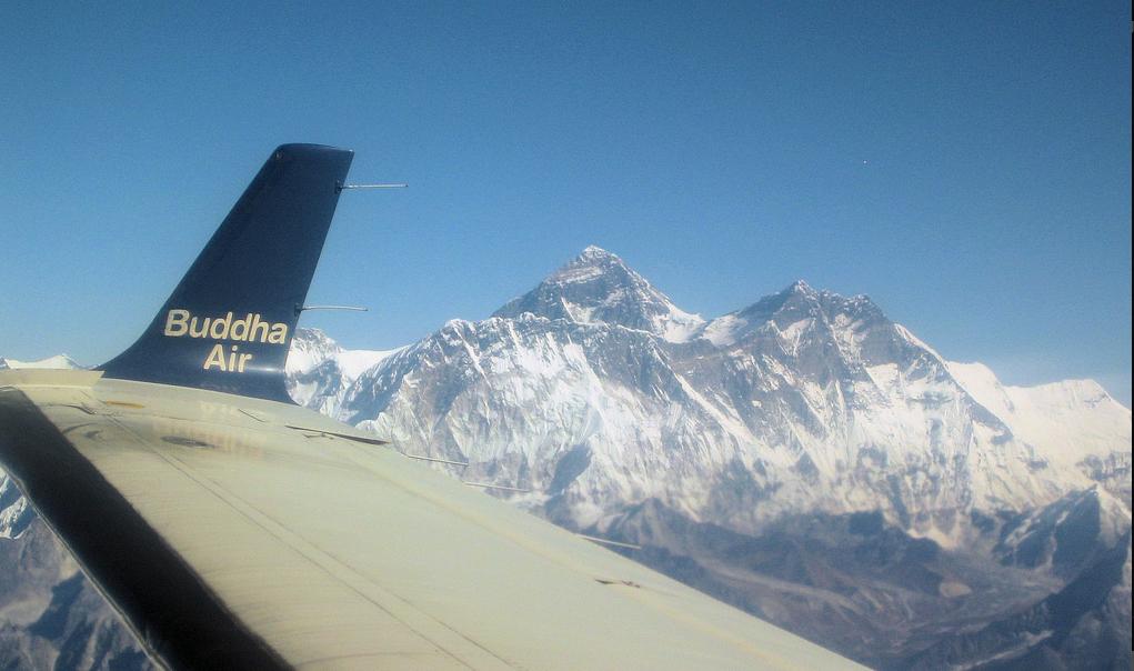 Everest Mountain flight tour in Nepal