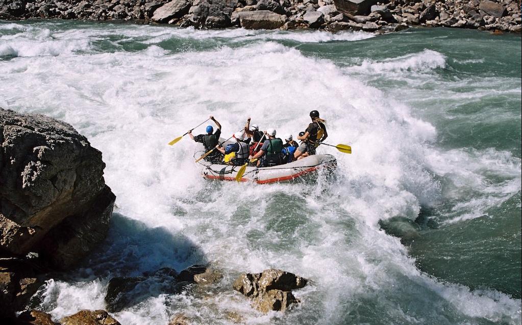 Nepal River Rafting