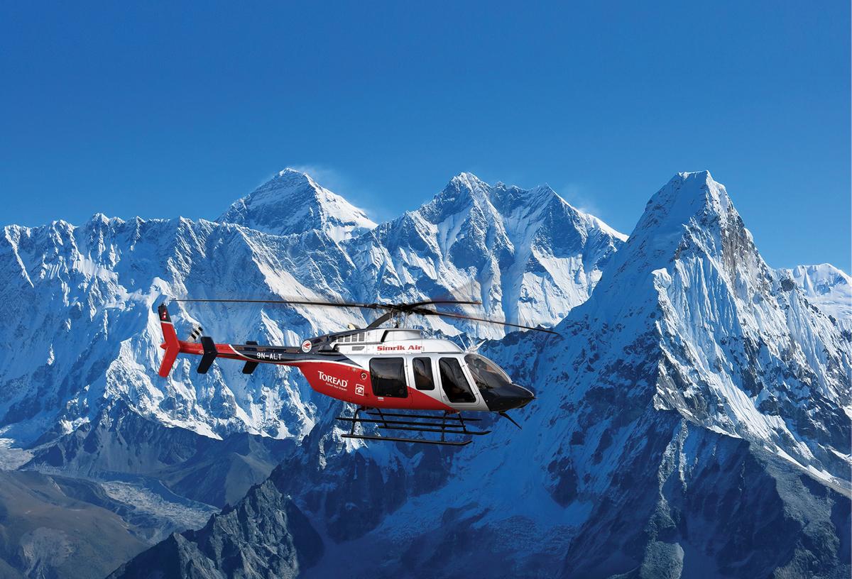 Real Everest Flights