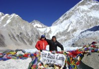 Trekking in Everest Base Camp