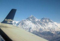 Everest Mountain flight tour in Nepal